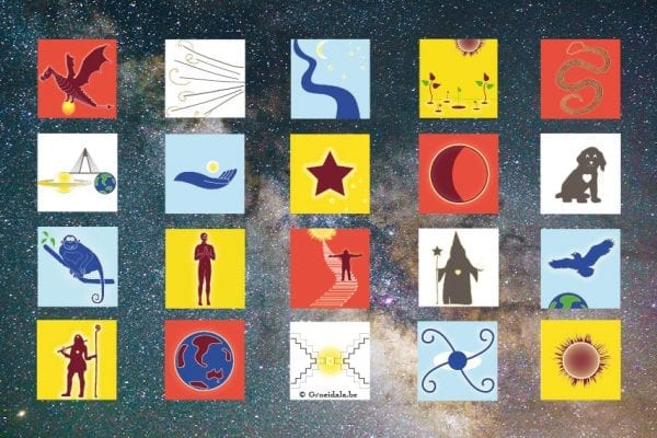 Groeidala 20 Zonnetekens galaxy Tzolkin